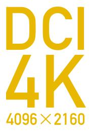 DCI 4K(4096×2160)